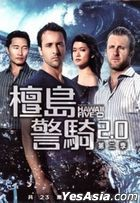 Hawaii Five-0 (DVD) (Ep. 1-23) (The Second Season) (Taiwan Version)
