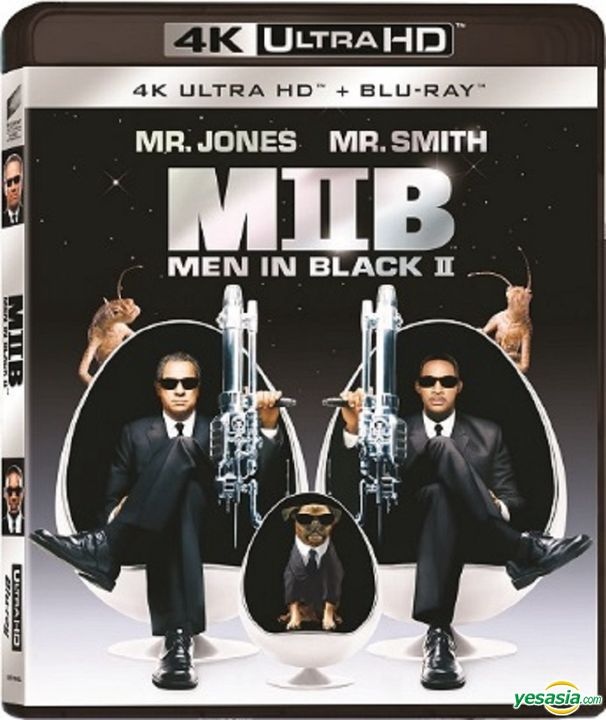 Yesasia Men In Black Ii 2002 4k Ultra Hd Blu Ray Hong Kong Version Blu Ray Tommy Lee Jones Will Smith Intercontinental Video Hk Western World Movies Videos Free Shipping