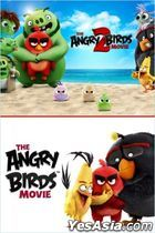 The Angry Birds Movie  2 Film Collection (Blu-ray) (Taiwan Version)