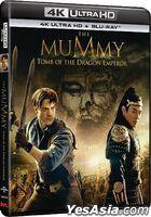 The Mummy: Tomb Of The Dragon Emperor (2008) (4K Ultra HD + Blu-ray) (Hong Kong Version)