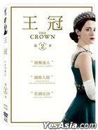 The Crown (2016) (DVD) (Ep. 1-10) (Season Two) (Taiwan Version)