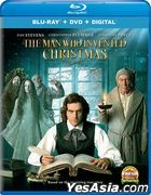 The Man Who Invented Christmas (2017) (Blu-ray + DVD + Digital) (US Version)
