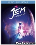 Jem and the Holograms (2015) (Blu-ray + DVD + Digital HD) (US Version)