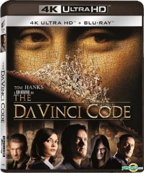 Yesasia The Da Vinci Code 2006 4k Ultra Hd Blu Ray Hong Kong Version Blu Ray Audrey Tautou Tom Hanks Intercontinental Video Hk Western World Movies Videos Free