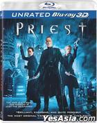 Priest (2011) (Blu-ray) (3D) (Hong Kong Version)