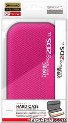 New 2DS LL Hard Case (粉红色) (日本版)