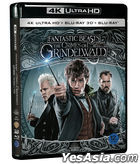 Fantastic Beasts: The Crimes of Grindelwald (4K Ultra HD + 3D + 2D Blu-ray) (First Press Limited Edition) (Korea Version)