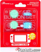 Ninendo Switch Joy Con Play Up Button Set (Light Blue & Light Green) (Japan Version)
