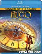 Hugo (2011) (Blu-ray) (2D + 3D) (Hong Kong Version)