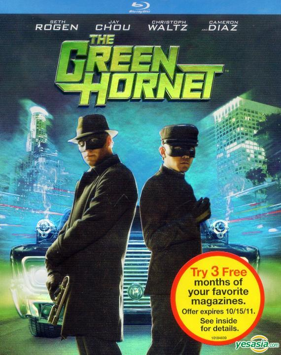 Yesasia The Green Hornet 2011 Blu Ray Us Version Blu Ray Jay Chou Tom Wilkinson Columbia Pictures Western World Movies Videos Free Shipping North America Site