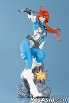 G.I. Joe Bishoujo : Scarlett Sky Blue Limited Edition 1:7 Pre-painted PVC Figure