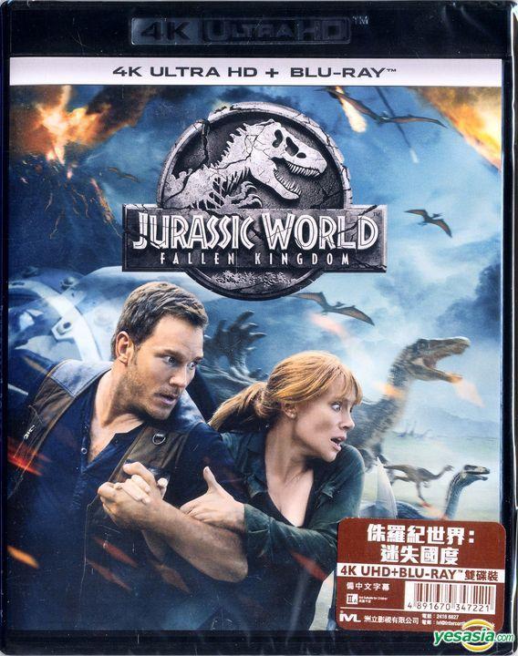 Yesasia Jurassic World Fallen Kingdom 2018 4k Ultra Hd Blu Ray Digital Hong Kong Version Blu Ray Rafe Spall Chris Pratt Intercontinental Video Hk Western World Movies Videos Free Shipping