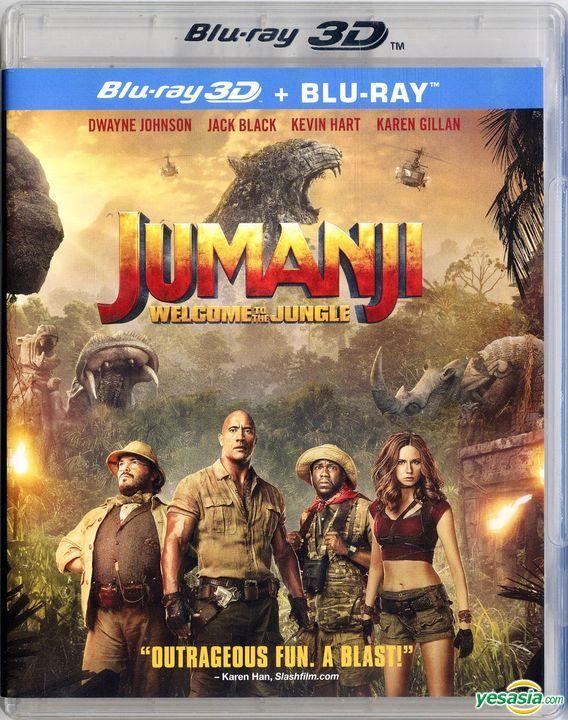 Yesasia Jumanji Welcome To The Jungle 2017 Blu Ray 3d Blu Ray Hong Kong Version Blu Ray Dwayne Johnson Jack Black Intercontinental Video Hk Western World Movies Videos Free Shipping