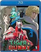 Tiger & Bunny (Blu-ray) (Vol.3) (Normal Edition) (English Subtitled) (Japan Version)