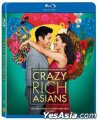 Crazy Rich Asians (2018) (Blu-ray) (Hong Kong Version)