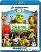 Shrek Forever After (2010) (Blu-ray) (3D) (Hong Kong Version)