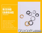 GOT7: JB Style - Rising Earring (Black) (8mm)