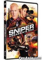 Sniper: Assassin's End (2020) (DVD) (Hong Kong Version)