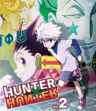 HUNTER X HUNTER (Blu-ray) (Vol.2) (Japan Version)