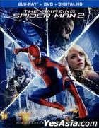 The Amazing Spider-Man 2 (2014) (Blu-ray + DVD + UltraViolet) (US Version)