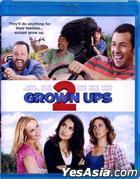 Grown Ups 2 (2013) (Blu-ray) (Hong Kong Version)