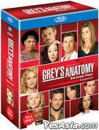 Grey's Anatomy - The Complete Fourth Season (Blu-ray) (4-Disc) (Box Set) (Korea Version)