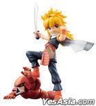 GEM Series : Mashin Hero Tora-Oh & Himiko & Burikinton Pre-painted PVC Figure
