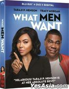 What Men Want (2019) (Blu-ray + DVD + Digital) (US Version)