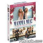 Mamma Mia! 2-Movie Collection (2DVD) (First Press Badge Limited Edition) (Korea Version)