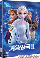 Frozen II (DVD) (Korea Version)