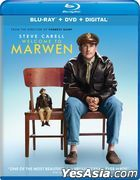 Welcome to Marwen (2018) (Blu-ray + DVD + Digital) (US Version)