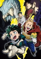 My Hero Academia 4th Vol.1 (DVD)(Japan Version)