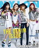 NYLON Korea (May 2014) (2NE1 Cover)