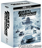 Fast and Furious 8-Movie Collection (4K Ultra HD + Blu-ray) (16-Disc) (Korea Version)