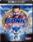 Sonic The Hedgehog (4K Ultra HD + Blu-ray) (Japan Version)