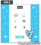BT21 X OST - Earrings Package (Koya)