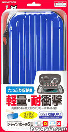 Nintendo Switch Shine Pouch SW (Blue) (Japan Version)