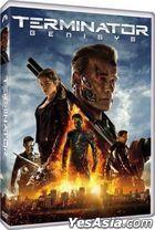 Terminator: Genisys (2015) (DVD) (Hong Kong  Version)