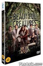 Beautiful Creatures (2013) (DVD) (Korea Version)