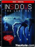 Insidious: The Last Key (2018) (DVD + Digital)(US Version)