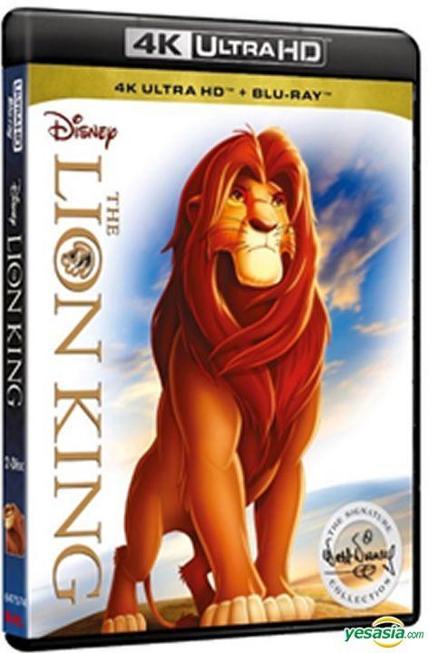 Yesasia The Lion King 1994 4k Ultra Hd Blu Ray Hong Kong Version Blu Ray Jonathan Roberts Rob Minkoff Intercontinental Video Hk Western World Movies Videos Free Shipping North America Site