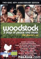 Woodstock: Three Days of Peace & Music  (DVD) (2-Disc 40th Anniversary) (US Version)