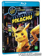 Pokemon Detective Pikachu (Blu-ray) (Korea Version)