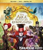 Alice Through the Looking Glass (2016) (Blu-ray + DVD + Digital HD) (US Version)