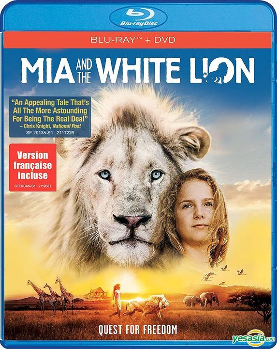 Yesasia Mia And The White Lion 2018 Blu Ray Dvd Us Version Blu Ray Langley Kirkwood Daniah De Villiers Shout Factory Us Western World Movies Videos Free Shipping
