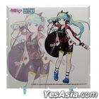 Dioramansion 150 Racing Miku Pit 2020 Optional Panel (Team UKYO Support Ver.)