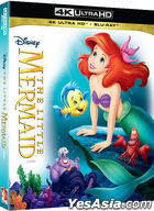 The Little Mermaid (4K Ultra HD + Blu-ray) (Korea Version)