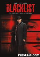 The Blacklist (DVD) (The Complete Second Season) (Hong Kong Version)