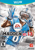 Madden NFL 13 (Wii U) (US Version)