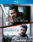 Robin Hood (2010) + Gladiator (2-Disc Limited Set) (Blu-ray) (Hong Kong Version)